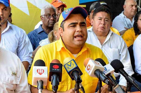Concejal Jorge González | Foto: @Pr1meroJusticia