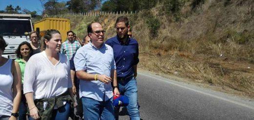 Julio Borges junto a diputados y dirigentes de Primero Justicia |Foto Twitter