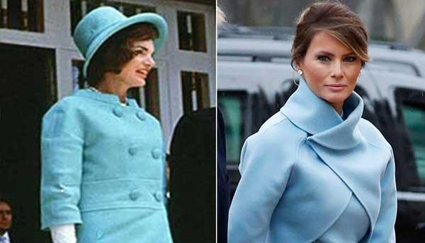 Jackie Kennedy / Melania Trump