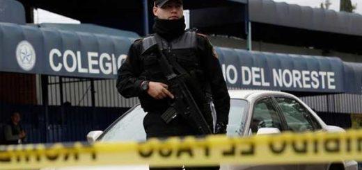 Fallece autor de tiroteo en colegio de México | Foto: AFP