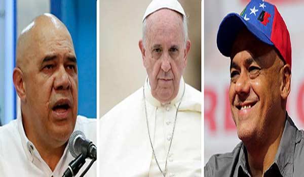 Representantes de diálogo podría conversar con el Papa Francisco |Composición: Notitotal