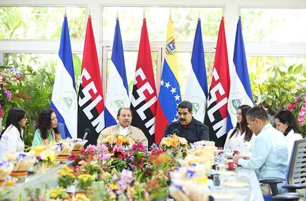 Maduro pidió a empresarios nicaragüenses invertir en Venezuela | Foto: @DPresidencia
