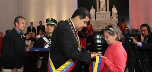 Maduro otorgó espada post mortem a Fabricio Ojeda | Foto: @DPresidencia