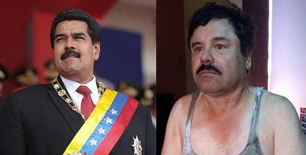 Leonardo Padrón comparó al Chapo Guzmán con Nicolás Maduro  Composición: Notitotal