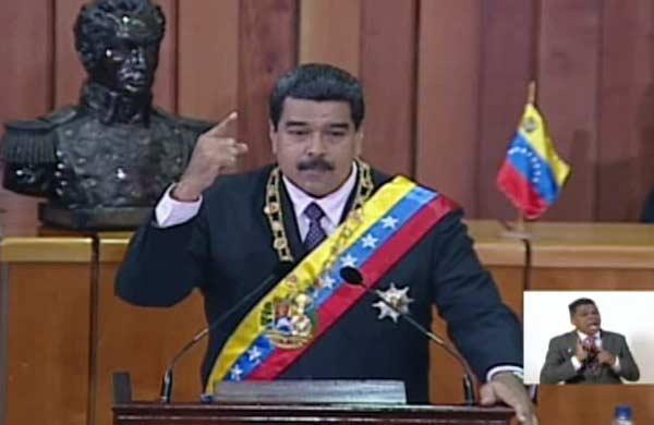 Maduro extiende el decreto de Emergencia Económica  Foto: Vtv