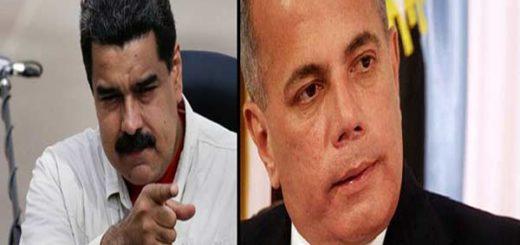 Nicolás Maduro dirige unas palabras a Manuel Rosales |Composición: Notitotal
