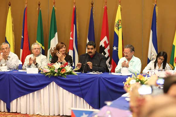 Presidente de Venezuela, Nicolás Maduro en el Foro de Sao Paulo |Foto: Prensa presidencial