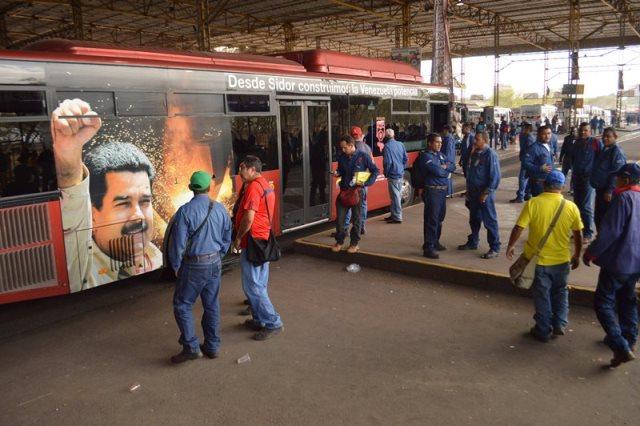 Programa de Maduro será transmitido en planta de Sidor |La Patilla