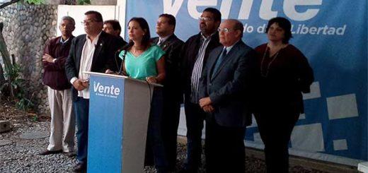 María Corina exhorta a la AN a proceder en la designación de los nuevos rectores |Foto: @PrensaMCM