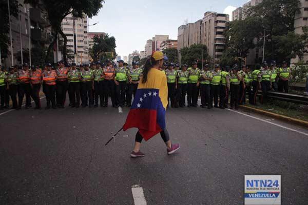 Venezolanos se quejan de que la MUD los abandonó nuevamente  Foto: NTN24