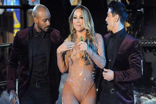 Mariah Carey una de las artistas más aclamadas para cantar en el Time Square no tuvo una buena presentación |Foto:  Reuters