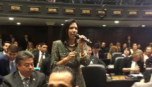 Diputada Mariela Magallanes | Foto: Captura de video