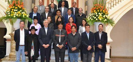 Ministros de Evo Morales presentarán su renuncia colectiva | Foto: ABI