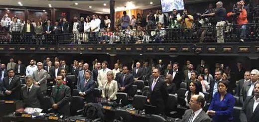 AN realizó minuto de silencio en memoria de Arnaldo Albornoz | Foto: @AsambleaVE