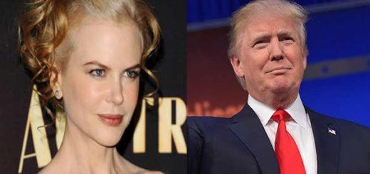 Nicole Kidman / Donald Trump | Fotomontaje