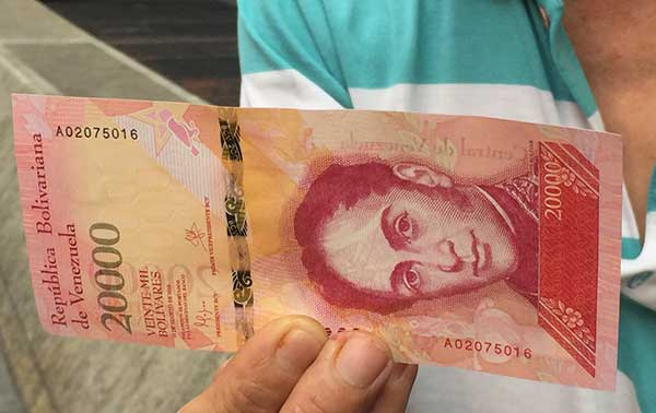 Entran en circulación nuevos billetes del cono monetario | Foto: @osmarycnn