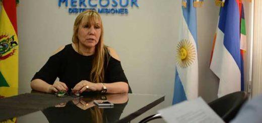 Cecilia Britto, presidenta del Parlasur |Foto: El Nacional