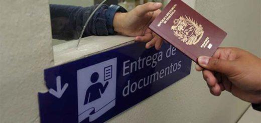 Pasaporte venezolano |Foto referencial