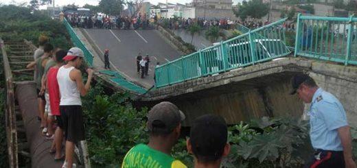Caída del Puente Guanape II |Cortesía: El Nacional