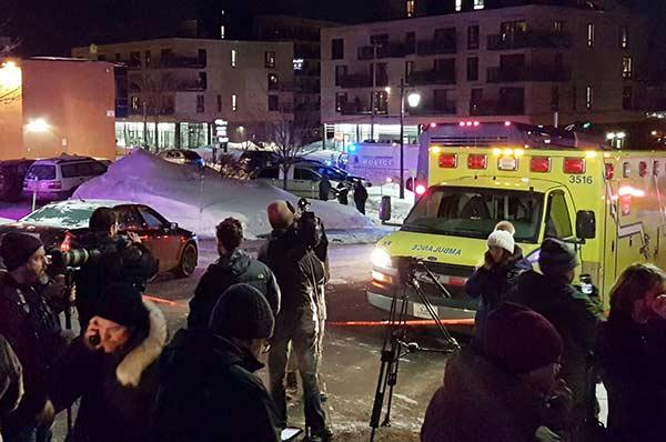 Ataque terrorista en Quebec  Foto: AFP