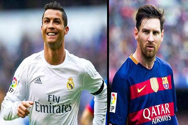 Cristiano Ronaldo vs Lionel Messi  Composición: Notitotal