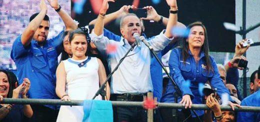 Exgobernador del Zulia, Manuel Rosales | Foto: @partidoUNT