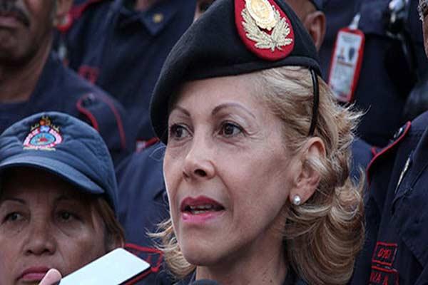 General Rosaura Navas |Foto: Nota de prensa