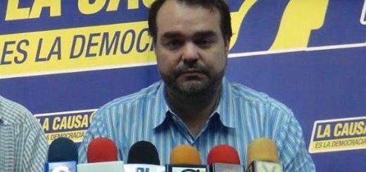 Secretario nacional de La Causa R, José Ignacio Guédez | Foto: La Patilla