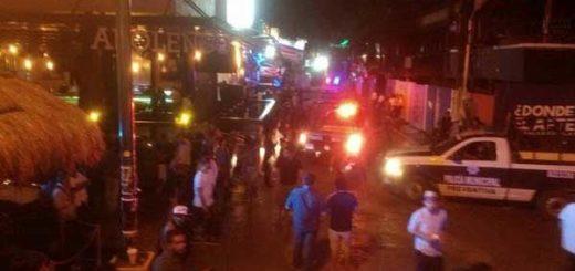 Cinco muertos en un ataque a un festival de música del caribe mexicano | Foto: Twitter
