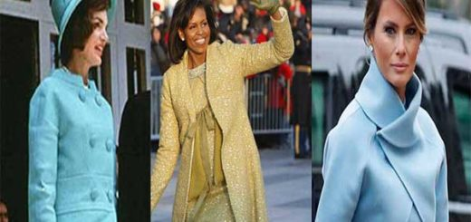 Jackie Kennedy / Michelle Obama / Melania Trump