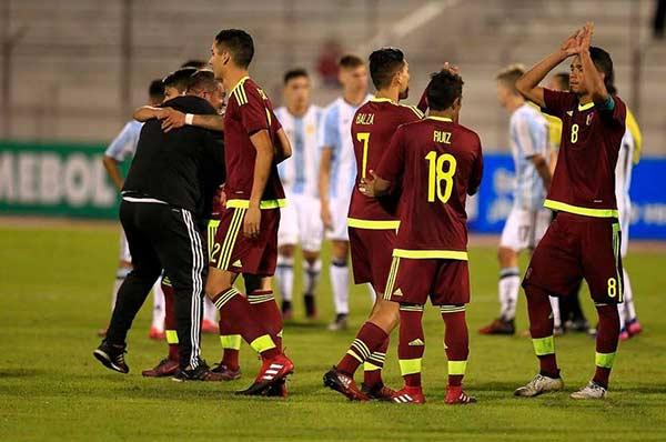 Vinotinto Sub-20 celebró clasificar invicta a la hexagonal final |Foto: El Nacional