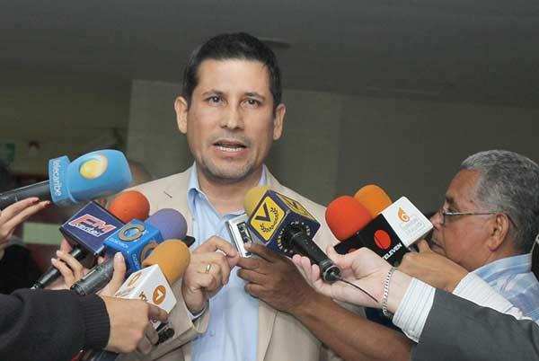 Warner Jiménez, alcalde de Maturín | Foto archivo
