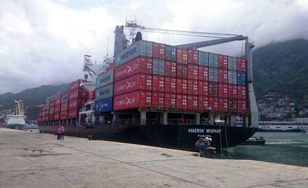 Llegan al país 376 contenedores con alimentos, medicinas y artículos de primera necesidad | Foto: Prensa Mippci