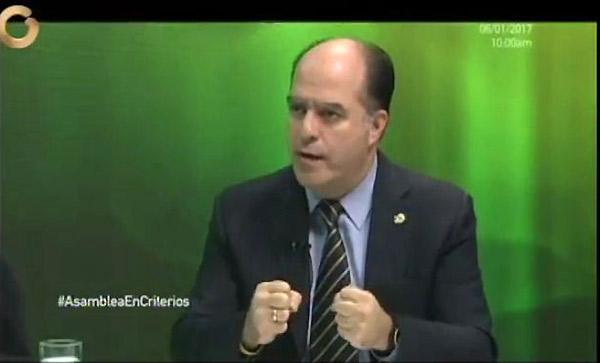 Julio Borges en Criterios | Foto: Captura de video