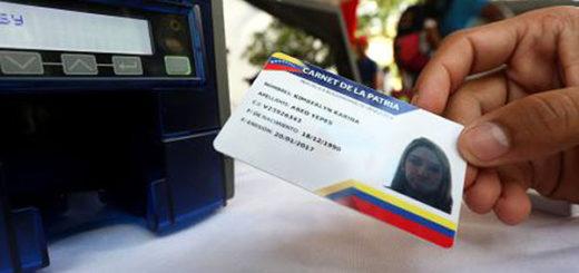 Carnet de la Patria | Foto: AVN