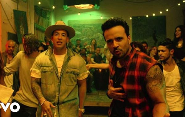 "Daddy Yankee y Luis Fonsi en ""despacito"" 