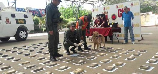 Droga incautada en el Zulia | Foto: @galindojorgemij