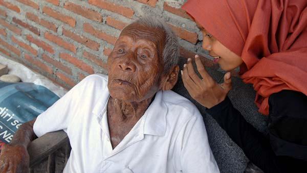 El hombre más viejo del mundo| Foto: Globallookpress