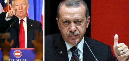 Erdogan aplaudió a Trump | Composición Notitotal