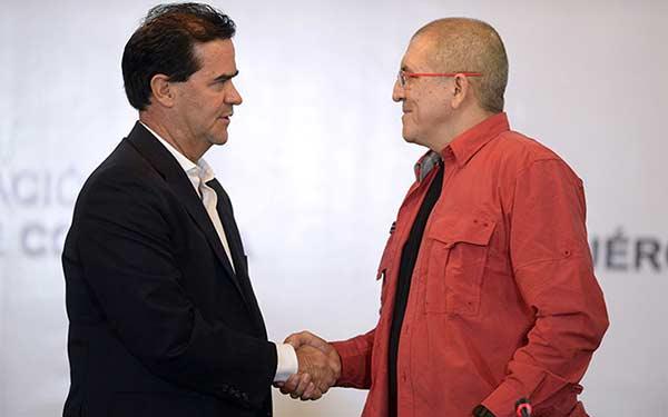 Gobierno de Colombia y ELN listos para negociar la paz | Foto: Agencia