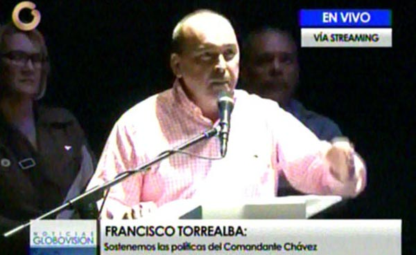 Francisco Torrealba | Foto. Captura