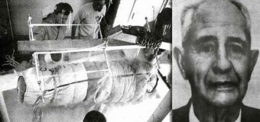 El cuerpo de Bedford pasó por el proceso de criogenización en 1967