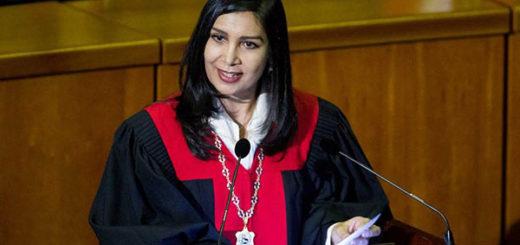 Magistrada Gladys Gutierrez | Foto: Archivo
