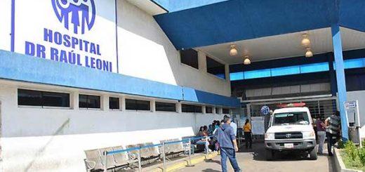 Hospital Raúl Leoni en Bolívar |Foto referencial