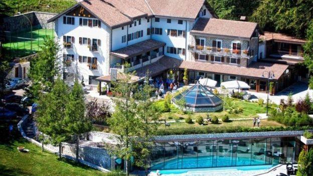 El Rigopiano era un hotel de lujo en Italia.|HOTEL RIGOPIANO