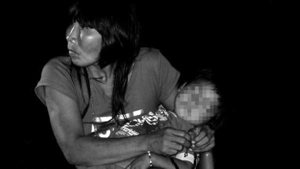 La historia de Carmen, la niña indígena que murió al comer de la basura | Foto referencial: Esteticapueblosoriginariosvenezuela.blogspot.com