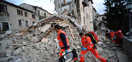 Tres terremotos sacudieron en menos de una hora el centro de Italia | Foto: Agencias