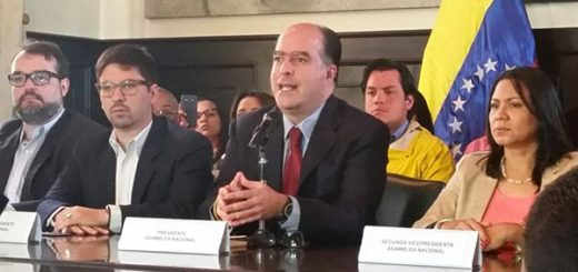 Julio Borges y demás diputados | Fotos Twitter