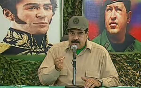 Nicolás Maduro   Foto: Captura