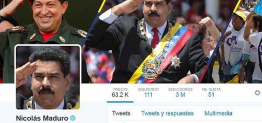 Nicolás Maduro Twitter | Foto: Captura de pantalla
